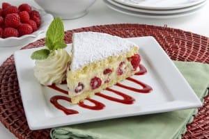 Rasp. Almond Torte
