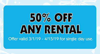 Rental Coupon